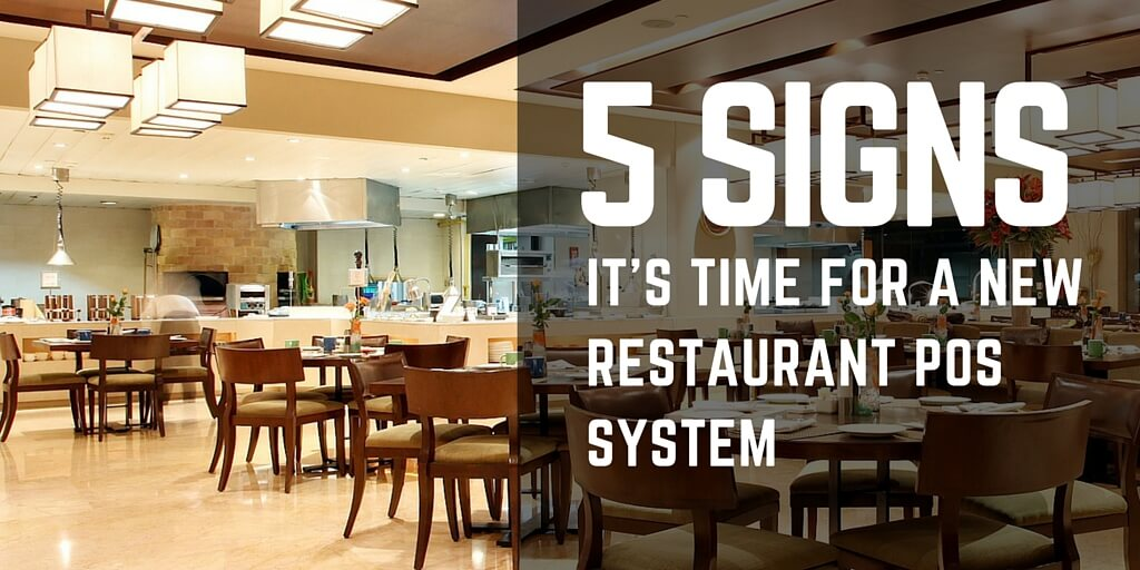 Signs Its Time For A New Restaurant POS System FoodZaps - Restaurant table signs