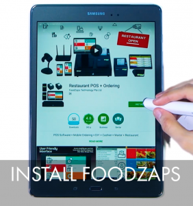 Install FoodZaps